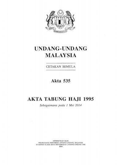 Tabung Haji Act